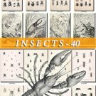 INSECTS-40-bw 187 vintage print