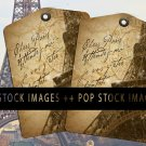 Antique Paris Eiffel Tower Collage Sheet-Dear Paris Tags-print Tags-Ephemera Postmark Tags-8
