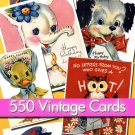 Digital Img. Jpeg files 550 Holidays Kids. Cards scrap cards