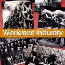 Digital Img. 'Vintage Workmen Industry Photos' cards labels decoupage ephemera