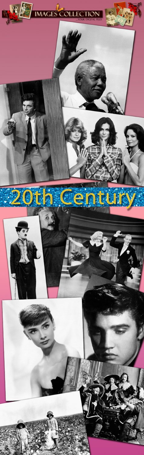 History 20th Century selection famous people celebrity actresses events world