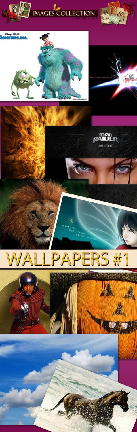 Digital Wpapers Backgrounds for computer various sizes fantasy cars abstract animals drawings