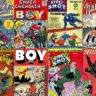 Lev Gleason BOY COMICS Silver Streak Comics DVD Illustories Chuck Ch, ler Skyman