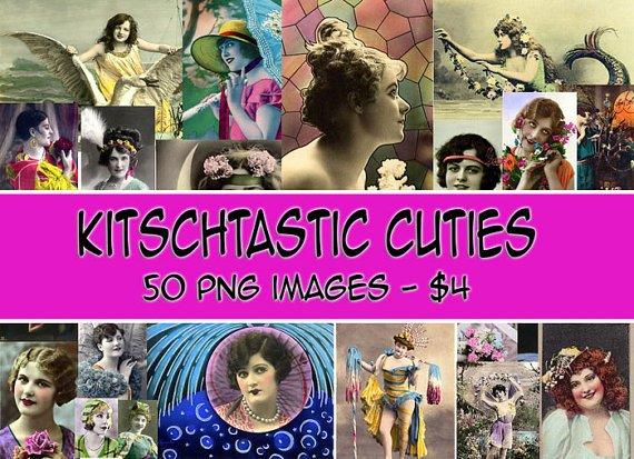 Vintage Kitsch Cuties