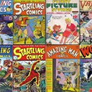 Better STARTLING THRILLING Wonder Comics DVD (Golden Age Vol 2) Centaur Croydon