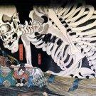 CD 650 Woodblock Art JAPANESE FOLKLORES Demons Ghosts Poster Prints Ukiyo-e Img.