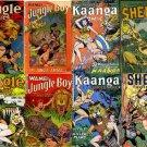 DVD Golden Age FICTION HOUSE Jungle Comics  Sheena Queen Wambi Kaanga 1920s