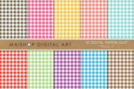 Digital Paper - Picnic II