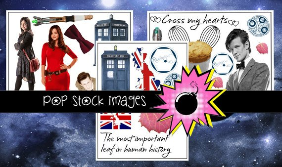 Doctor Who Collage Sheets-Set of 3-Doctor Who