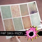 VINTAGE Muted Grunge for ATC ACEO-Collage-Altered Art-Journaling Cards-Digital Scrapbooking
