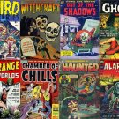 DVD Golden Age Comics SUSPENSE HORROR Tales Thriller Chamber Chills Mutiny Avon Fawcett Better