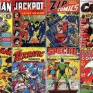 HOLYOKE Publishing MLJ Comics DVD  Cat man Blue Ribbon Zip One Shot old stories