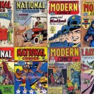 Modern NATIONAL QUALITY Comics Magazines DVD  Uncle Sam Eisner Jack Cole