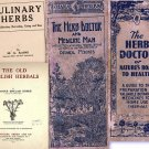 DVD 24 eBooks of Old Vintage HERBAL MEDICINE Remedy Homeopathic Herbs Ephemera