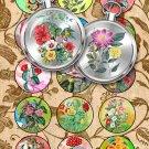 Collage FLOWERS-05-c vintage print