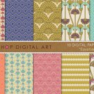Digital Paper Egyptian II