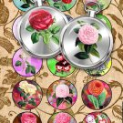 Collage FLOWERS-04-c vintage print