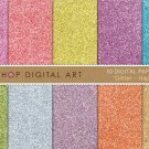 Digital Paper Glitter - Happy Day