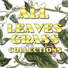 LEAVES GRASS Collections 1-89 with 21 300 vintage print