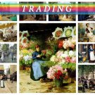 TRADING PEOPLE on 318 vintage print