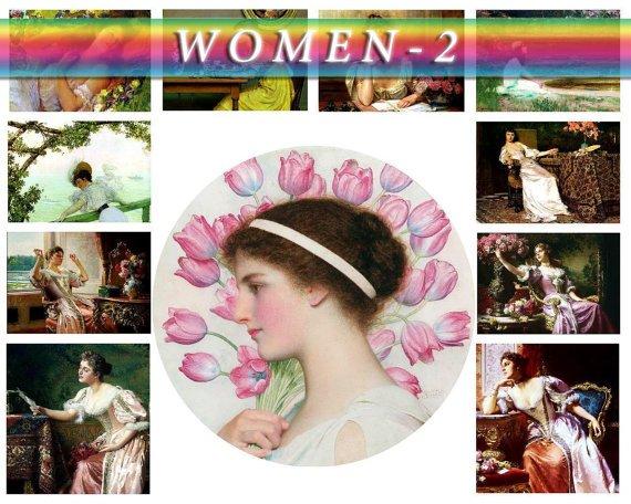 WOMEN-2 251 vintage print