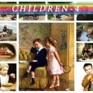 CHILDREN-4 209 vintage print