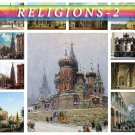 RELIGIONS-2 theme on 156 vintage print