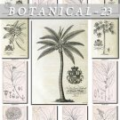 BOTANICAL-23-bw 375 black-, -white vintage print