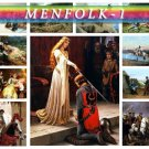 MENFOLK WARRIORS-1 151 vintage print