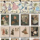CHILDREN BOOKS-1 illustrations Collection with 265 vintage print
