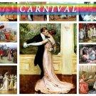 CARNIVAL DANCING on 225 vintage print