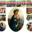ANTIQUITY era theme on 270 vintage print