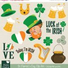 St Patricks Day Clip Art-Saint Patricks Day ClipartLeprechaunIrish vector clip art
