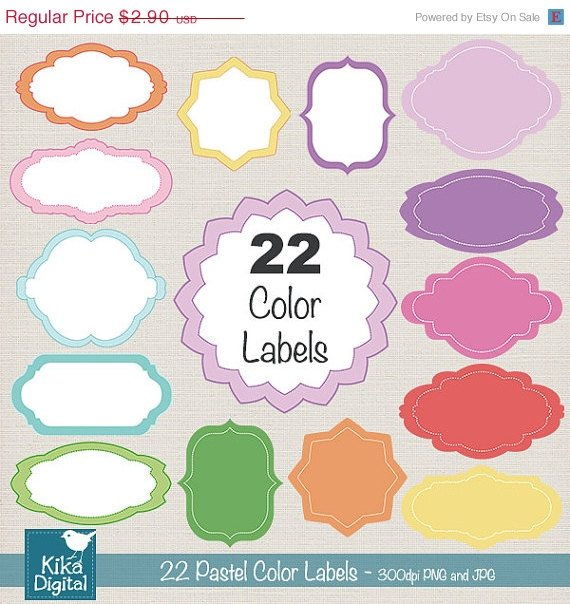 22 Pastel Color High Resolution 300dpi images