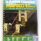 Mapsco Street Atlas McLennan Bell Coryell Texas 1st ed 2003