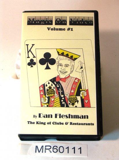 Dan Fleshman Magic On Video vol 1 VHS