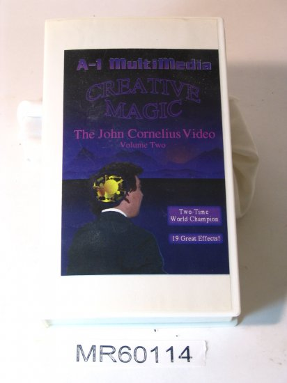 John Cornelius Creative Magic vol.2 (19 effects) VHS