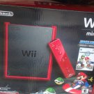 Wii mini with Mario kart game