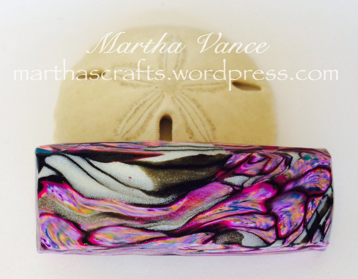Medium purple barrette