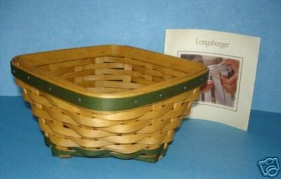 Longaberger 2006 LUCKY TWIST Shamrock St. Pat's BASKET