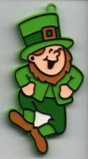 Hallmark St. Patrick's LEPRECHAUN Vintage Painted Cookie Cutter