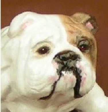 Bulldog Figurine Collectible