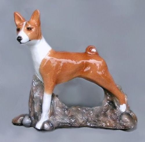 Basenji Dog Figurine