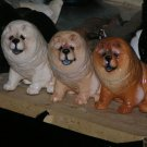 Chow Chow Dog Figurine by Hevener