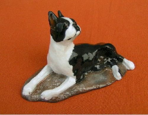 Boston Terrier Figurine