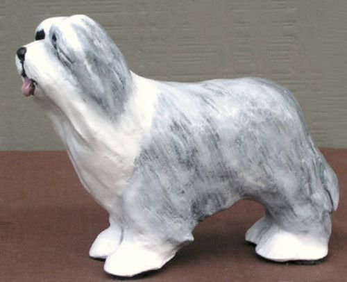 Bearded Collie Dog Figurine