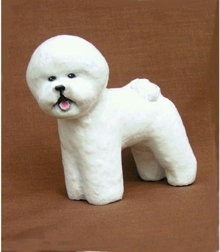 Bichon Frise Dog Figurine