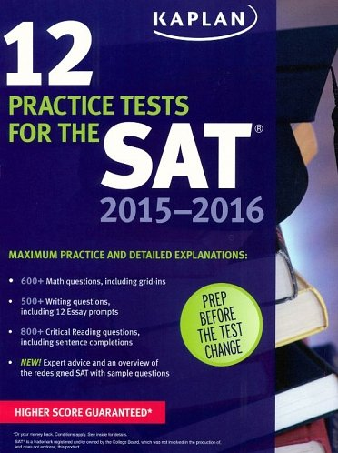 12 Practice Tests for the SAT 2015-2016(e-Textbook)