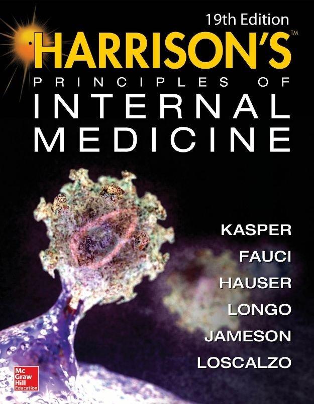 Harrison's Principles of Internal Medicine 19/E (Vol.1 & Vol.2) (e-Textbook)