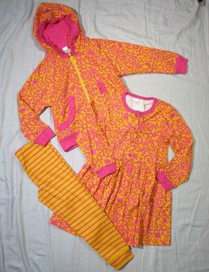 NWT Hanna Andersson $104 Jacket,  Playdress & Leggings 110